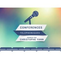 Conférences téléphoniques 2017
